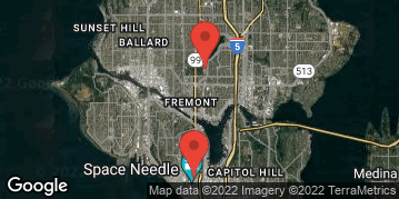 Locations for Spring Co-ed Flag Football at Seattle Center Thursdays