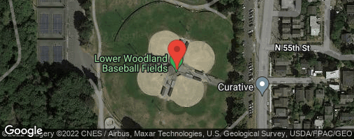 Locations for Late Summer Co-ed Kickball at Lower Woodlands Wednesdays