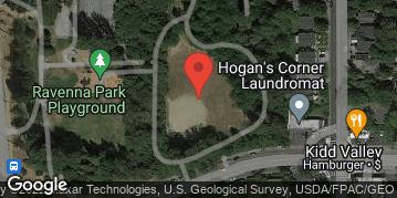 Locations for Summer Softcore Kickball in Ravenna Tuesdays/Thursdays