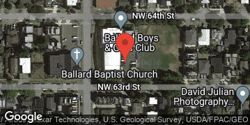 Locations for Summer Softcore Kickball at Ballard Boys & Girls Club Tuesdays/Thursdays