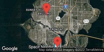 Locations for Spring Co-ed Flag Football at Seattle Center Saturdays