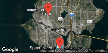 Locations for Spring Co-ed Flag Football at Seattle Center Tuesdays