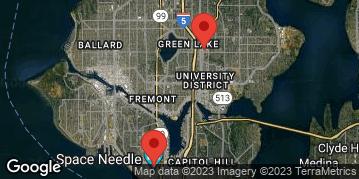 Locations for Spring Gentlemen's Flag Football at Seattle Center Sundays