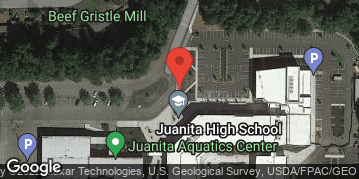 Locations for Summer Gentlemen's Flag Football at Juanita HS Tuesdays