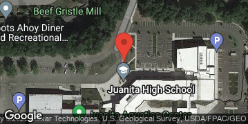 Locations for Spring Gentlemen's Flag Football at Juanita HS Tuesdays