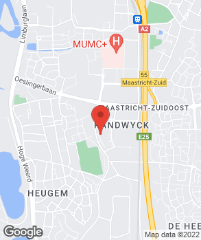 Locatie Automobielbedrijf Jos Bogman Maastricht B.V. op kaart