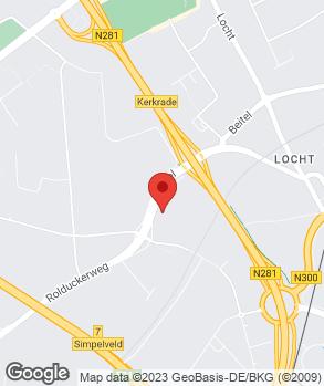 Locatie Auto Vaessen B.V. op kaart