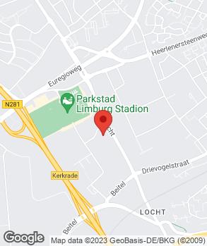 Locatie Citroën Specialist Parkstad op kaart