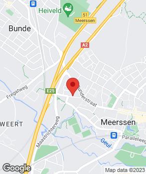 Locatie Ericars Bosch Car Service Meerssen op kaart