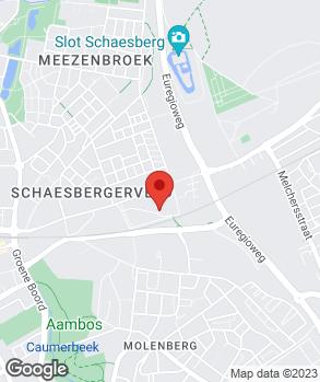 Locatie J.G. Meulenberg B.V. op kaart