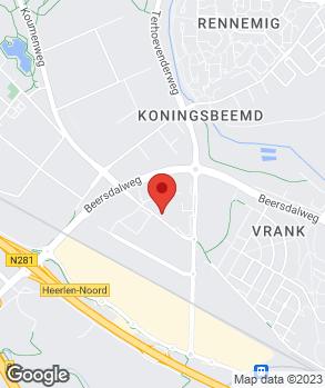 Locatie Schadenet Koenen op kaart