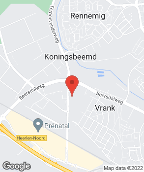 Locatie Autobedrijf Keram Heerlen B.V. op kaart