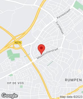 Locatie Doe Het Zelf Garage Ben Peeters op kaart