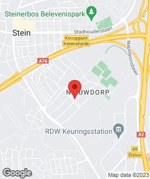 Locatie Autobedrijf Ridorff B.V. op kaart
