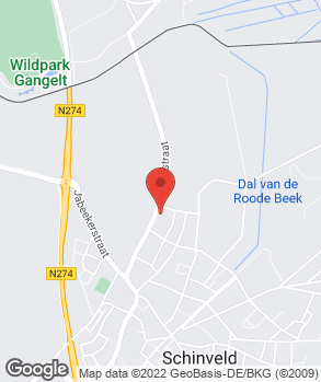 Locatie Autobedrijf van Woudenberg op kaart