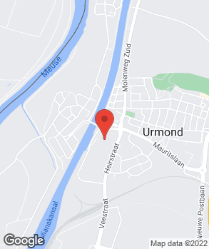 Locatie Autofit Urmond op kaart