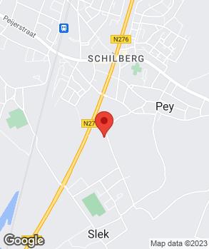Locatie Bougie B.V. op kaart