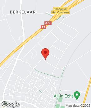Locatie B. van Susteren op kaart