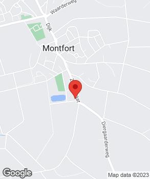 Locatie Auto Service Montfort B.V. op kaart