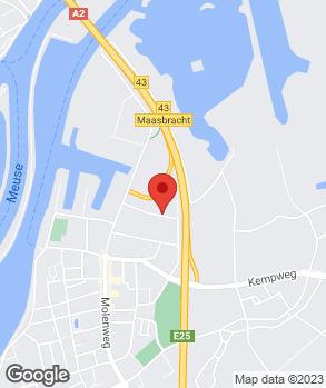 Locatie Auto Van Laar Maasbracht B.V. op kaart