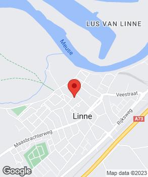 Locatie Autocentrum Linne op kaart
