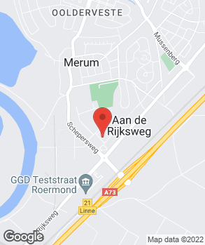 Locatie Van Mossel Roermond op kaart