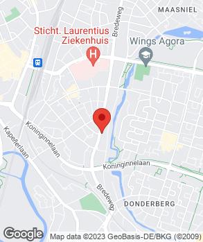 Locatie BMF Garage Roermond B.V. op kaart