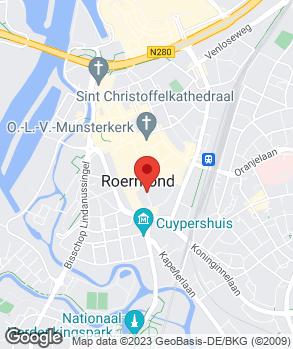 Locatie Van Horne's Automobielbedrijf B.V. op kaart
