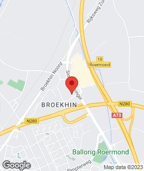 Locatie Auto Niroc Roermond op kaart