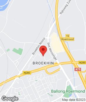 Locatie Auto Hensgens B.V. op kaart