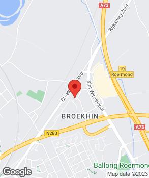 Locatie Autobedrijf Gommans en Jansen Roermond B.V. op kaart