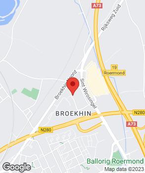 Locatie Paul Autoservice Roermond op kaart