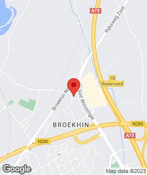 Locatie Hekkert Roermond B.V. op kaart