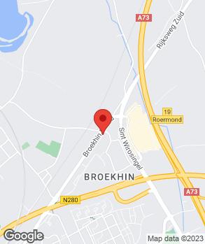 Locatie Lennaerts Roermond B.V. op kaart