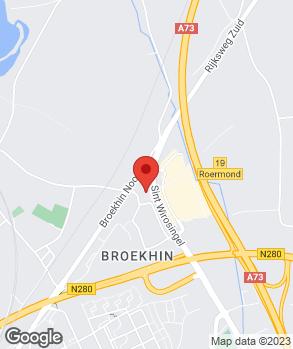 Locatie Autobedrijf Rutten Roermond B.V. op kaart
