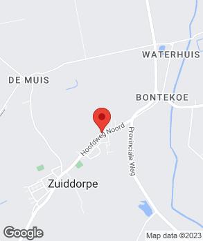 Locatie Henk's Custom Shop op kaart