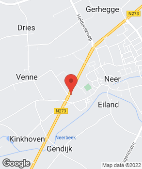 Locatie F.J. van Oeteren op kaart