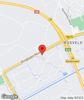 Locatie Allers Bedrijfswagens Weert B.V. op kaart