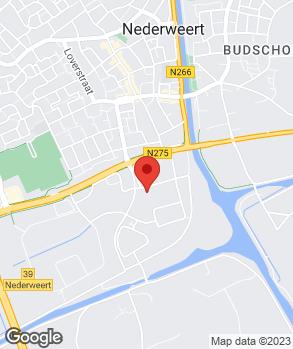 Locatie Hanssen Auto's op kaart