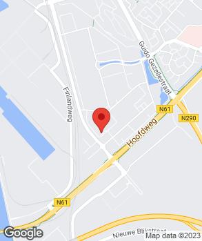 Locatie Autobedrijf Rida | Autohuis Terneuzen op kaart