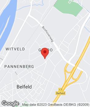 Locatie DBG De Belfeldse Garage op kaart