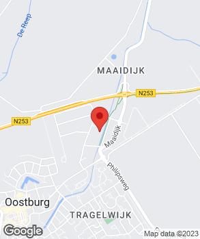 Locatie Garagebedrijf J.I. Brugge en Zoon B.V. op kaart
