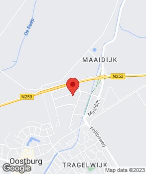 Locatie Mobiliteitscentrum Oostburg B.V. op kaart