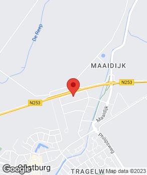 Locatie Autobedrijf Van den Bosse B.V.   Vakgarage Oostburg op kaart