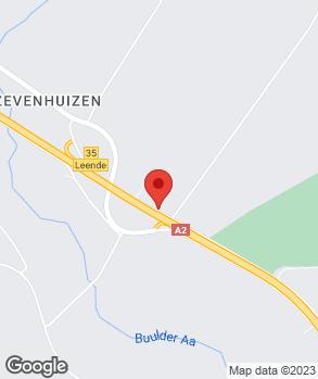 Locatie De Beer Auto's Leende op kaart