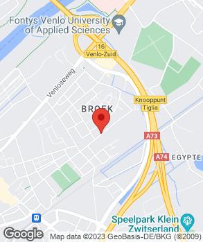 Locatie Auto In- en Verkoop 't Broek op kaart