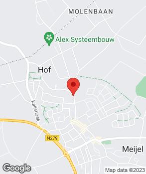 Locatie Garagebedrijf van Meijel V.O.F. op kaart