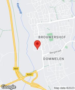 Locatie M. van Ham op kaart