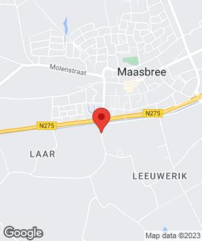 Locatie Autobedrijf Ron van de Laar op kaart