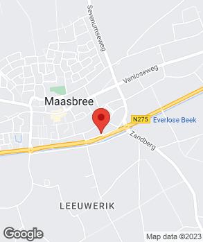 Locatie Autobedrijf Broekmans BV. op kaart